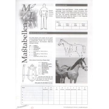 MXL-Brustblatt für Einspänner